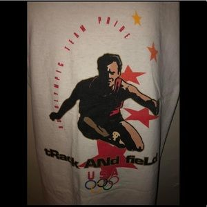 Vintage USA Olympic Track and Field Shirt Size XL